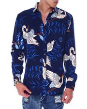 Mens-Holiday - Crane Ls Woven Shirt-2440800