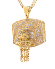 King Ice - Basketball Necklace-2440591