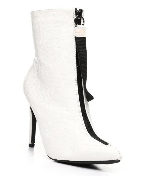 Fashion Lab - Front Zip-Up Bootie