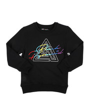 Black Pyramid - Maze Spectrum Crew Neck Sweatshirt (5-18)-2440111