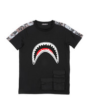 Hudson NYC - Utility Sharks Mouth Shirt (8-18)-2440184