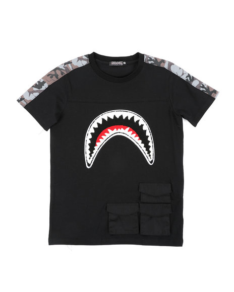 Hudson NYC - Utility Sharks Mouth Shirt (8-18)