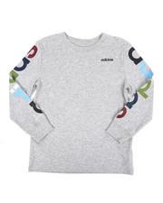 Adidas - Long Sleeve Linear Tee (8-20)-2435707