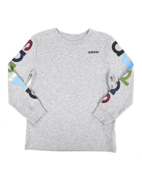 Adidas - Long Sleeve Linear Tee (8-20)