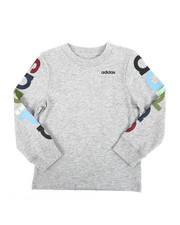Adidas - Long Sleeve Linear Tee (2T-4T)-2435695