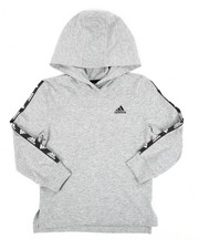 Adidas - Hooded Linear Tee (4-7) -2435801