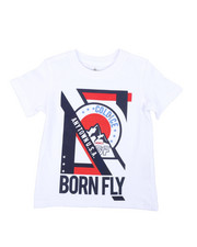 Born Fly - Short Sleeve Graphic Tee (2T-4T)-2435686