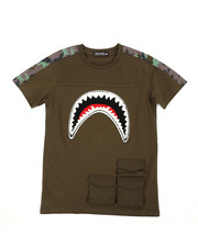 Hudson NYC - Utility Sharks Mouth Shirt (8-18)-2440217