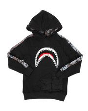 Hudson NYC - Utility Sharks Mouth Hoodie (8-18)-2440229