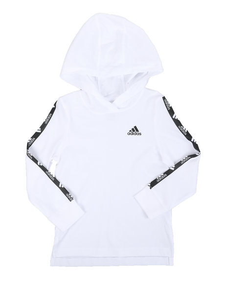 Adidas - Hooded Linear Tee (2T-4T)