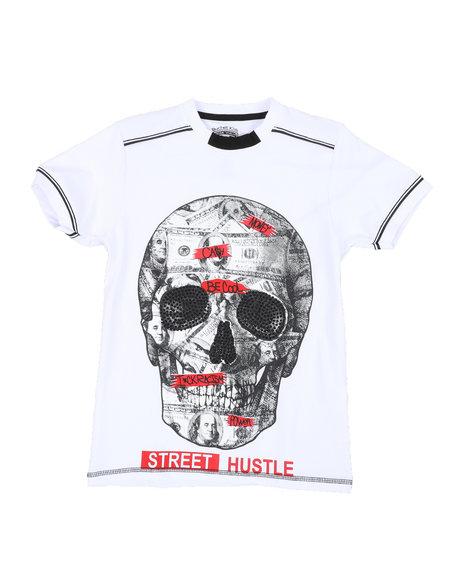 Arcade Styles - Skull Print Tee (8-20)