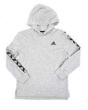 Sizes 8-20 - Big Kids - Hooded Linear Tee (8-20) -2435874