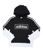 Sizes 8-20 - Big Kids - Colorblock Pullover Hoodie (8-20)-2436927