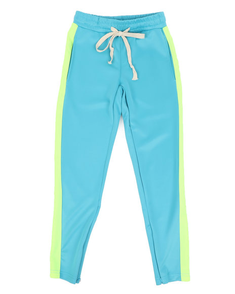 Arcade Styles - Poly Double Jersey Open Bottom Pants W/ Tape (8-20)