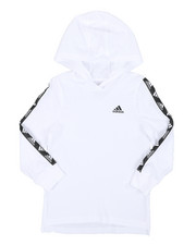 Adidas - Hooded Linear Tee (4-7)-2435902