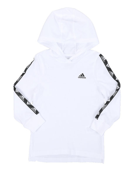 Adidas - Hooded Linear Tee (4-7)