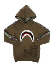 Hudson NYC - Utility Sharks Mouth Hoodie (8-18)-2440248