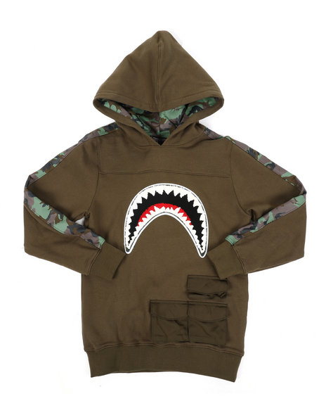 Hudson NYC - Utility Sharks Mouth Hoodie (8-18)