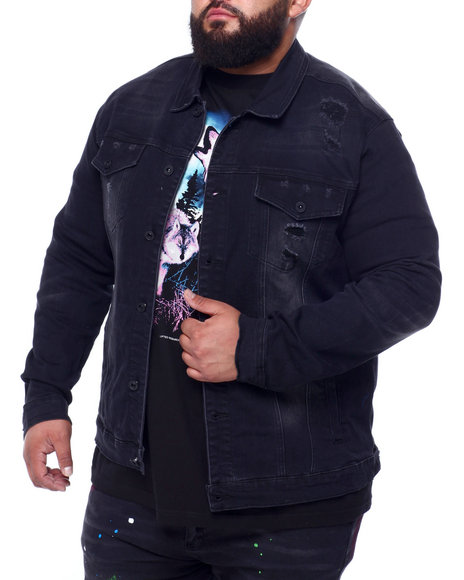 SMOKE RISE - Smoke Rise Denim Jacket (B&T)
