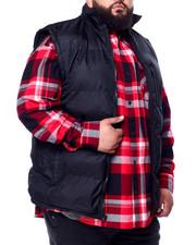 Big & Tall - Padded Vest W/Fleece Lining (B&T)-2440017