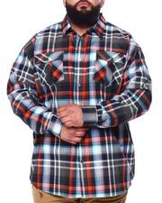 Big & Tall Faves - L/S Plaid Woven (B&T)-2439340