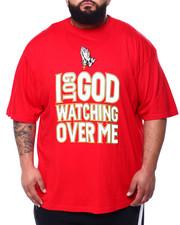 Short-Sleeve - I Got God Watching Over Me Tee (B&T)-2428522