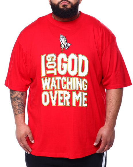 Buyers Picks - I Got God Watching Over Me Tee (B&T)