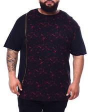 Buyers Picks - Zipper T-Shirt W/Tied Wash Accent (B&T)-2428500
