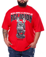Buyers Picks - Being Broke Against My Religion Tee (B&T)-2428527