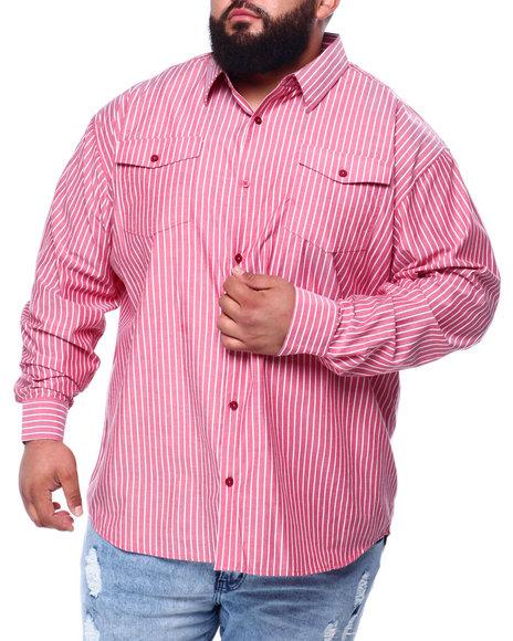 Buyers Picks - Yarn Dyed Stripe L/S Woven (B&T)