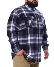 Button-downs - Long Sleeve Flannel (B&T)-2439243