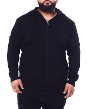 Big & Tall - CVC Fleece Basic Hoodie (B&T)-2428622
