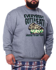 Big & Tall Faves - L/S Everybody Gotta Eat Sweatshirt (B&T)-2428568