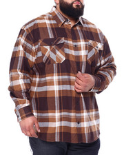 Big & Tall Faves - Long Sleeve Flannel (B&T)-2439155
