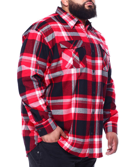 Buyers Picks - Long Sleeve Flannel (B&T)