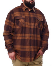 Big & Tall Faves - Long Sleeve Flannel (B&T)-2439282