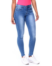 Bottoms - Mid Rise Skinny Jean-2439508