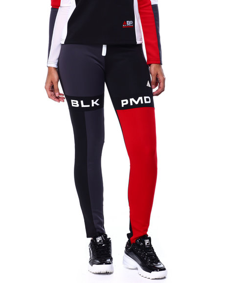 Black Pyramid - Blk Pmd Block Leggings