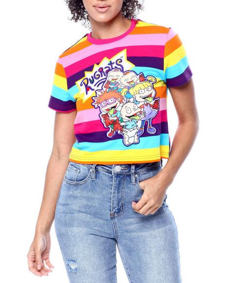 Freeze Max - Rugrats Crew Crop Stripe Shirt