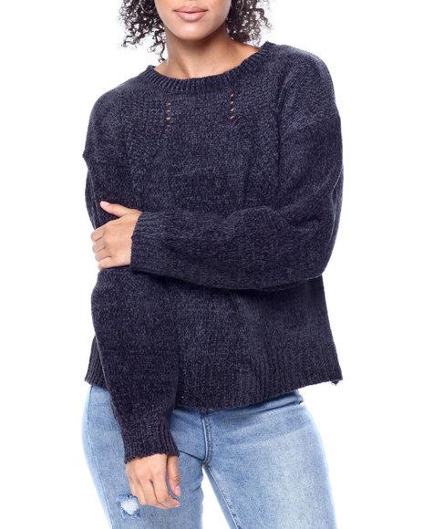 Fashion Lab - L/S Sweater W/Rib Trim