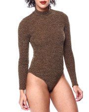 Fashion Lab - Mock Neck L/S Bodysuit-2441702