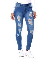 Bottoms - Ripped Skinny Jean-2439517