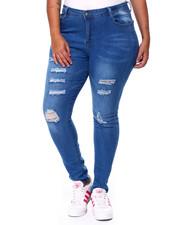 Jeans - Destructed HI Rise Skinny Jean-2442060