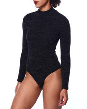 Fashion Lab - Mock Neck L/S Bodysuit-2441710
