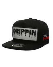 Hats - Drippin 3M Reflective Snapback Hat-2439125