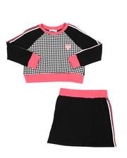 Sizes 7-20 - Big Kids - Kristin Sweatshirt & Skirt Set (7-16)-2437456