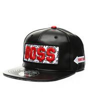 Hats - Bo$$ Paisley Patch Snapback Hat-2439121