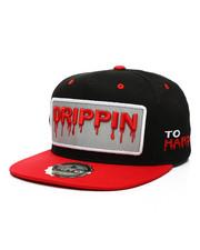 Hats - Drippin 3M Reflective Snapback Hat-2439126