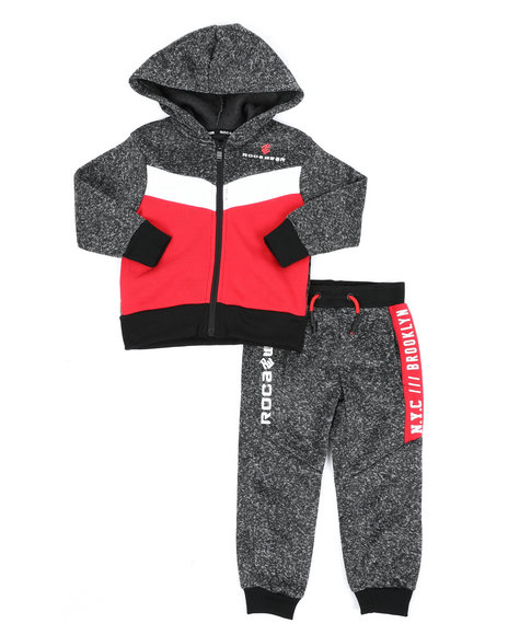 Rocawear - 2Pc Fleece Set (2T-4T)