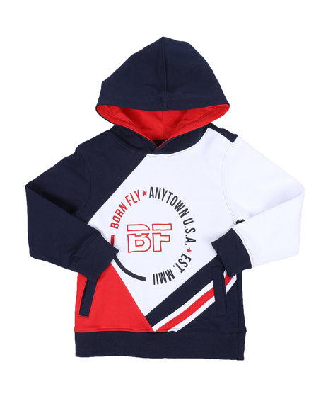 Born Fly - CTTN Fleece Hoodie (4-7)